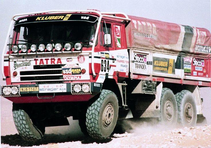Tatra 815 - PARIS - DAKAR 1986