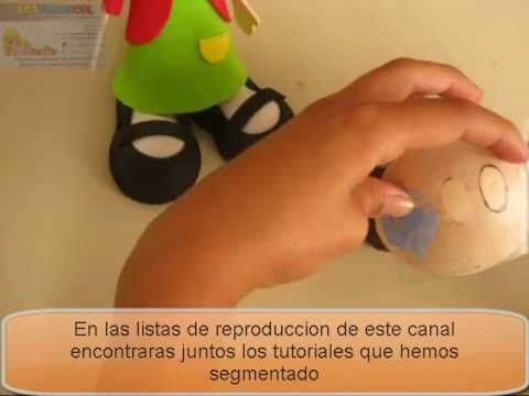 FOFUCHA CHILINDRINA EN FOAMY O GOMA EVA PARTE 2 DE 2