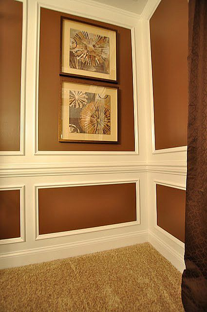 Contemporary Decorative Wall Molding Ideas Pattern - Wall Art Design ...