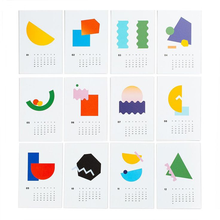Art Every Day 2017 Mini Calendar