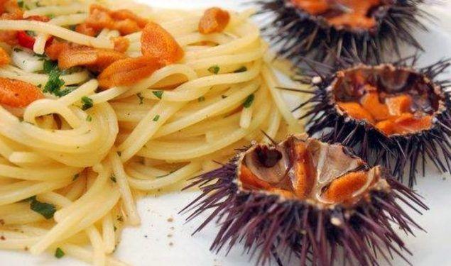 Spaghetti con i Ricci di Mare