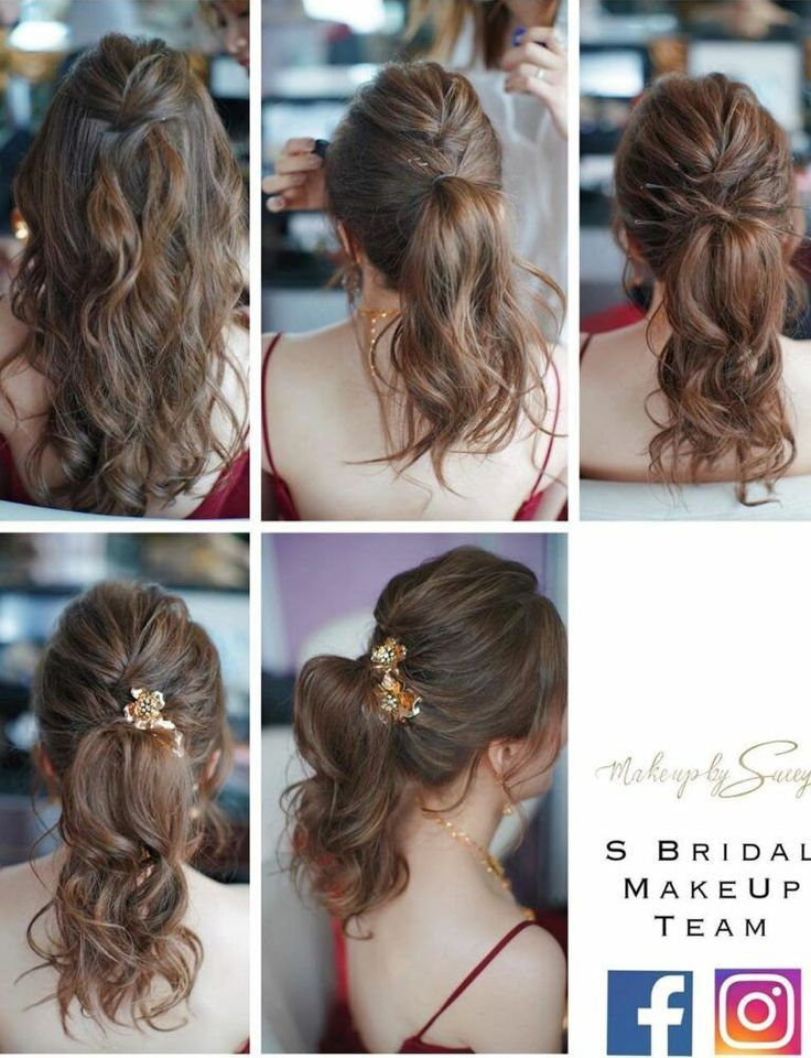 10+easy hairstyles for long hair to do at home step by step - Hey-Cinderella (With images ...