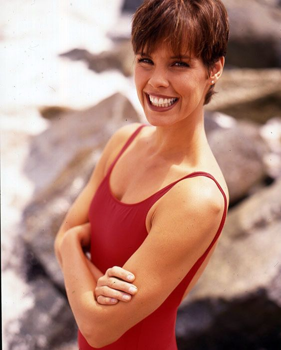L642f Vintage 3 Actress Transparency Photo Alexandra Paul