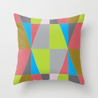 Throw Pillow featuring Block it! by designed to a T