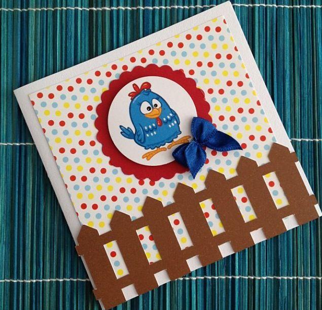 Convite personalizado da Galinha Pintadinha - www.clakeka.blogspot.com