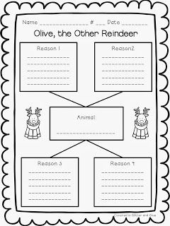 Olive, the Other Reindeer Fun and a Freebie