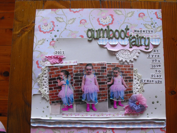 photo 2012  scrapbooked 2012