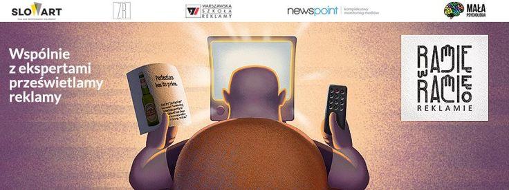 """Wraz z Warszawską Szkołą Reklamy i SlowArt organizujemy cykl spotkań """"Ramię w ramię o reklamie"""", na których będziemy analizować najciekawsze kampanie reklamowe! Poprowadzimy swój blok, w którym pokażemy jak kształtowały się dyskusje w sieci o omawianych spotach. Najbliższe spotkanie już w piątek, zapraszamy! https://www.facebook.com/events/1164677173602403/permalink/1168980973172023/"""