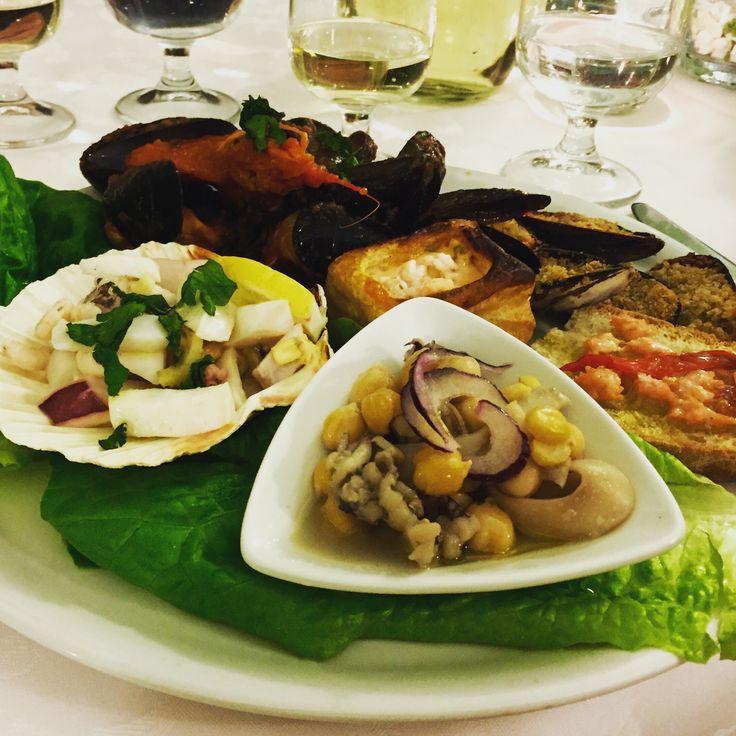"""A good fish restaurant in Città della Pieve """"La Fonte del Folletto"""""""