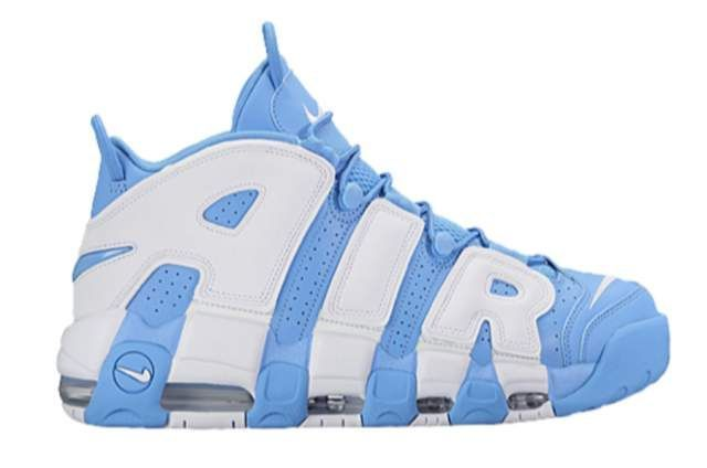 bd6907e21a Air More Uptempo University Blue in 2019 | sneakers | Pinterest ...