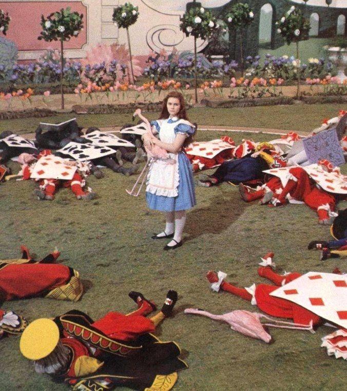 Fiona Fullerton in Alice's Adventures in Wonderland (1972, dir. William Sterling)