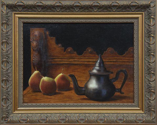 3 Pears By Jerzy Niedojadlo Of Nitram Charcoal
