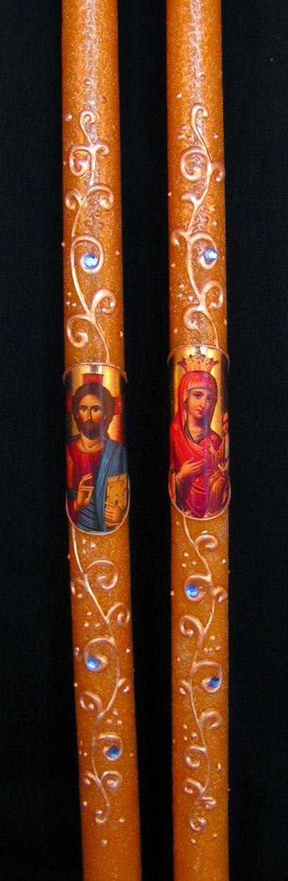 Pascha Candles Part 1 - St. John Chrysostomos Greek Orthodox Monastery