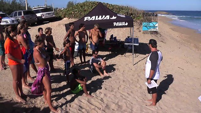Third video from the PAWA Junior Surf Clinic... Thanks Mundo Rad #pawasurfco #pawasurfclinic #pawasurf