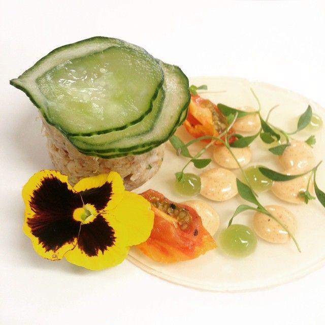 #pottedcrab #gainsboroughrestaurant #summer #willingtonhall #cheshire @willingtonhallhotel