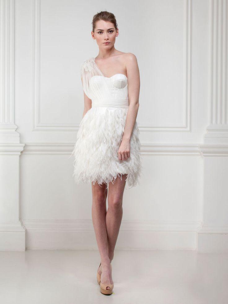 9 best Cocktail wedding dress images on Pinterest | Wedding frocks ...