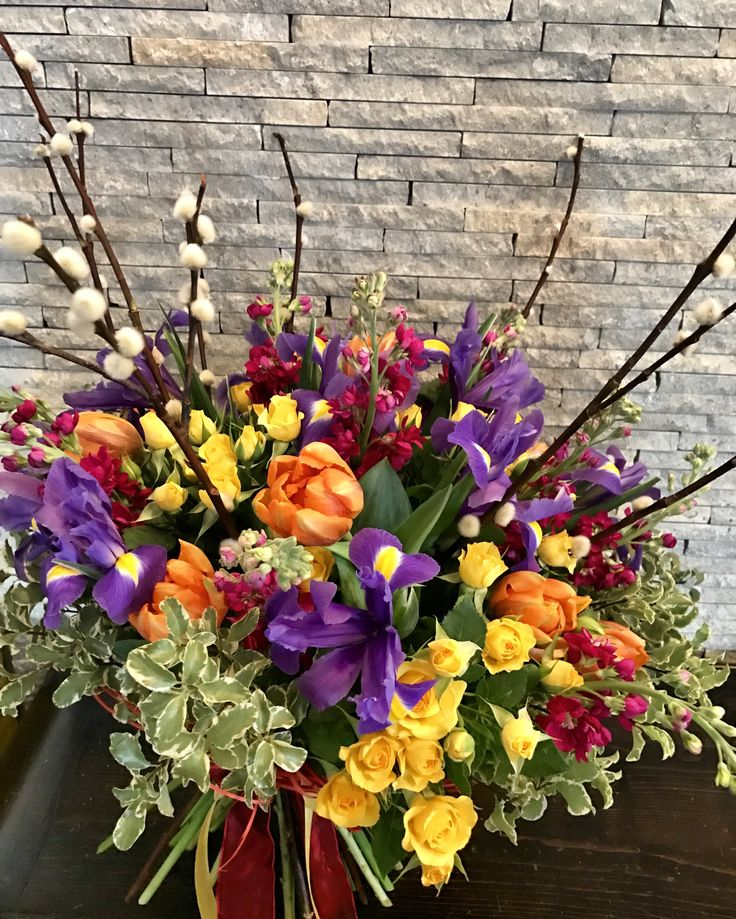 #spring #flowers #bouquet