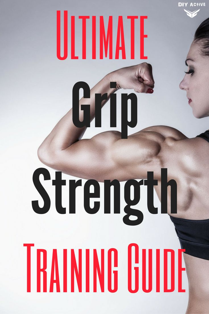 Grip Strength Training Guide via @DIYActiveHQ #exercise