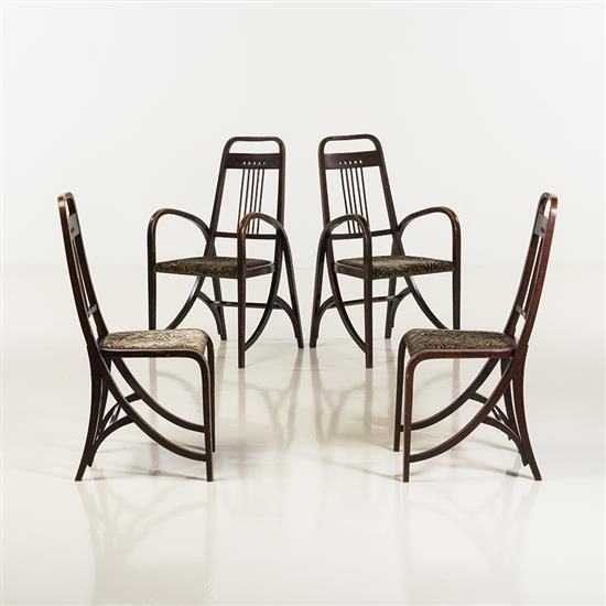 Thonet frèresCanapé model N ° 2511, armchair model N ° 1511 and
