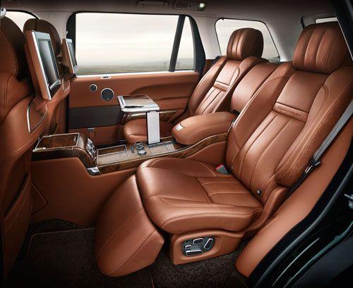 Holland & Holland Range Rover Interior Seats