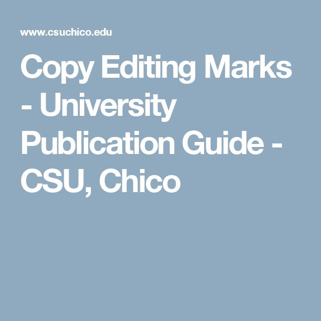 The  Best Copy Editing Ideas On   Editing Writing