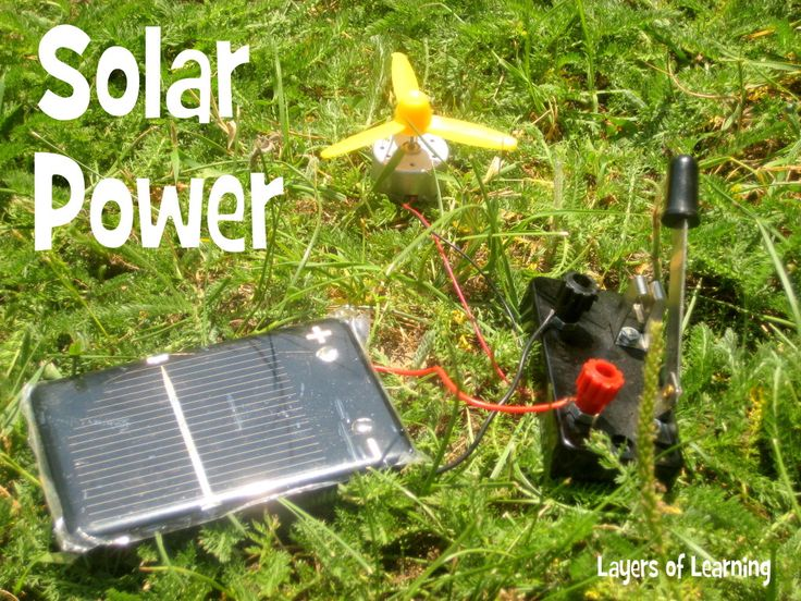 Solar energy experiments solar power energy power for Solar energy projects for kids
