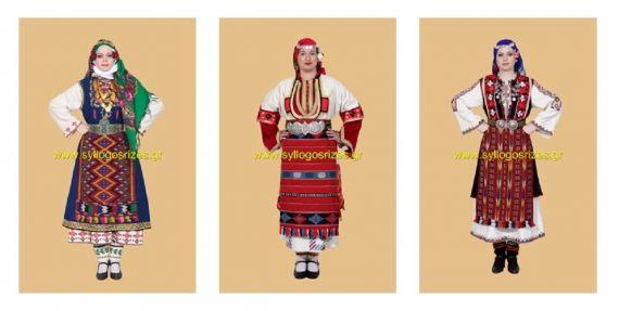 Ελληνικές παραδοσιακές ενδυμασίες - Greek Traditional Costumes - www.paradosiakesstoles.gr
