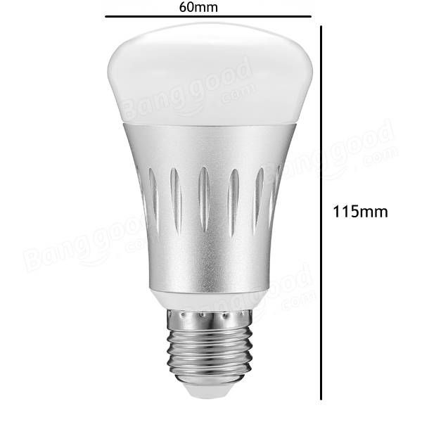 ARILUX® E27 8W RGB + White Dimmable Smart WIFI LED Light Bulb Works with Amazon Alexa Echo AC85-265V