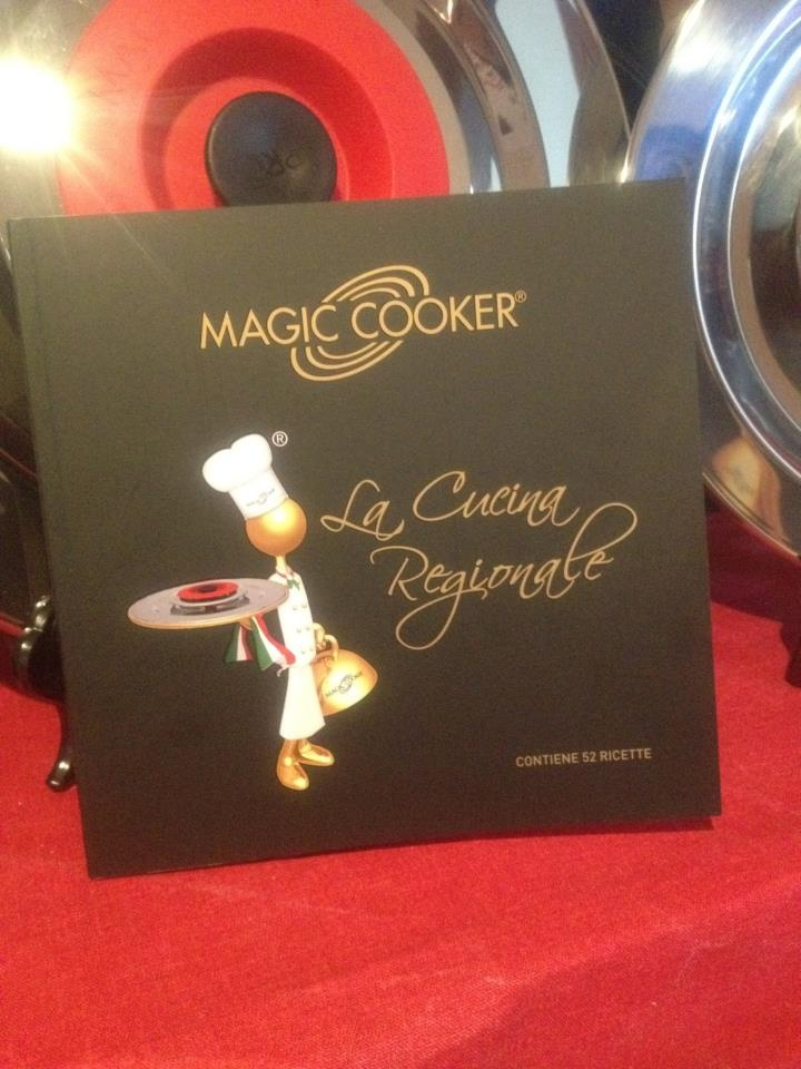 scopri come fare ad avere gratis il nuovissimo libro di cucina , Magic Cooker !!