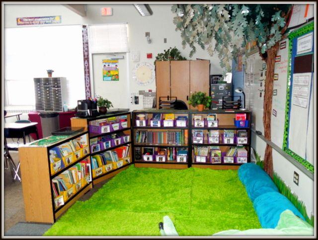 Reading Classroom Design Ideas ~ Best classroom decorating ideas images on pinterest