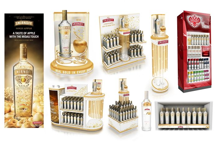 Smirnoff Apple Merchandising Design by Eduardo Viloria at Coroflot.com