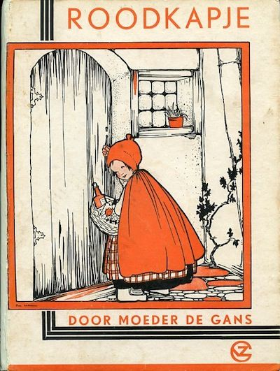 Rie Cramer, sprookjes : Roodkapje.