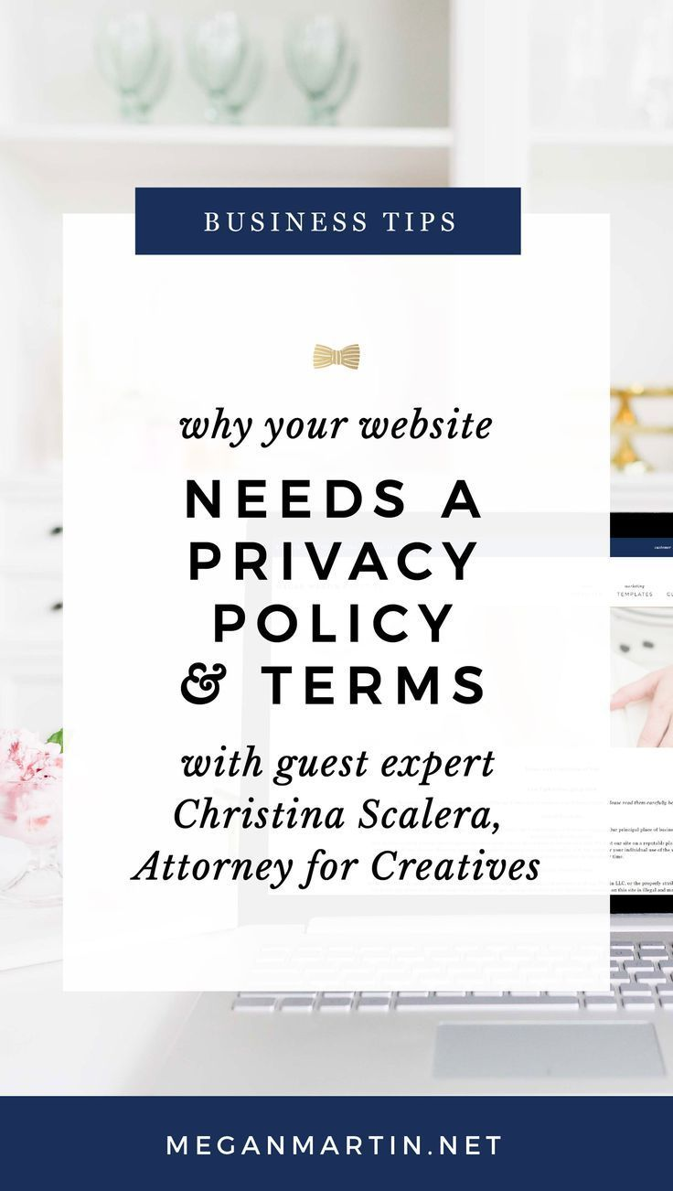 The One Page Your Website Needs To Be Legally Protected
