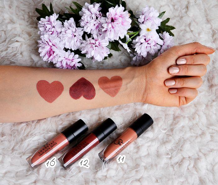 Golden Rose Liquid Matte Lipstick