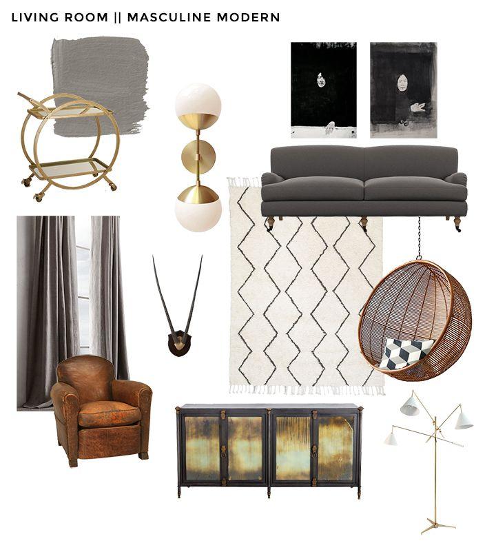Emily Henderson Interior Define Brady Tolbert Living Room