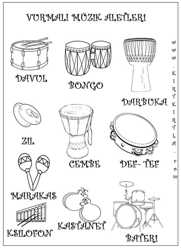 Muzik Nedir Muzik Aletleri Nelerdir Muzik Calisma Kagitlari