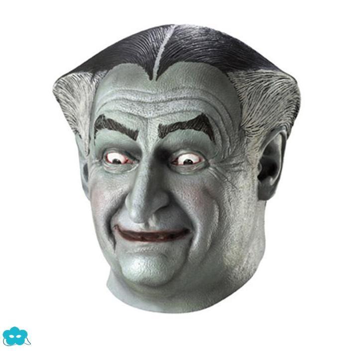 Máscara de Abuelo La Familia Monsters de látex para adulto