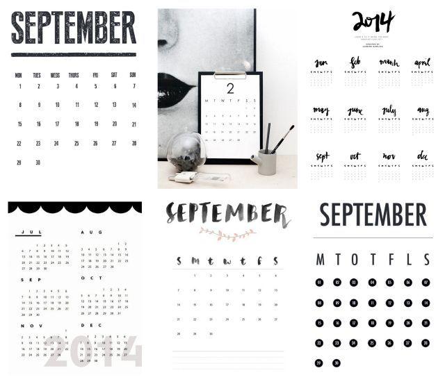 Print din egen kalender