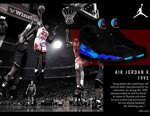 A personal project series of Michael Jordan's classic shoe collection. From  the Air Jordan 1 to the Air Jordan I do not own the rights for the images  used ...