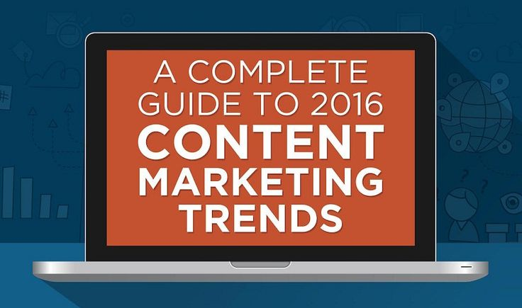 """""""When planning for 2016, where should marketers even start?"""" In this new infographic, Zen Content provides their overview of expected social media and content marketing trends for the next year."""