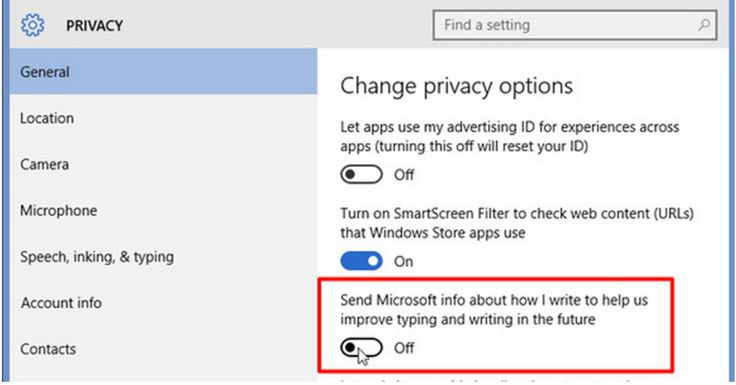 Windows 10 is not Free  Privacy Issues Did you know that Microsoft records your voice camera and every keystroke on Windows 10? Of course its all in the Terms of Agreement.  When you interact with your Windows device by speaking handwriting or typing Microsoft collects speech inking and typing information  including information about your Calendar and People [contacts]  Heres their privacy statement preview for Windows 10. They do a really good job at explaining it like its nothing important…