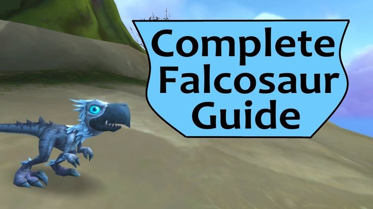 Falcosaur Guide - Falcosaur Pets, Mounts, Toys and Talon's Vengeance