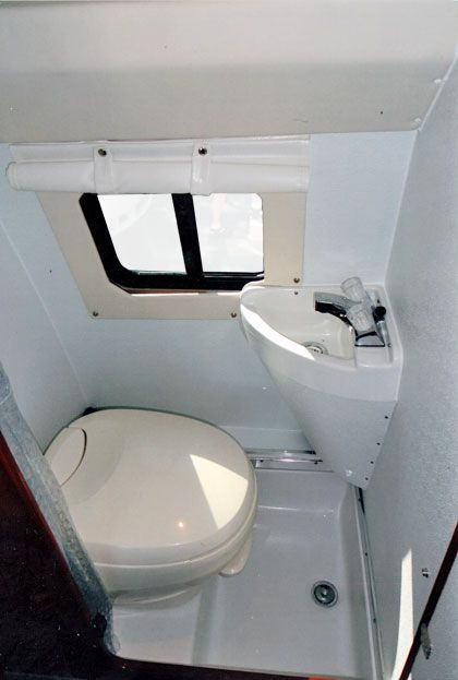 Is it always best to shower in your RV? Find out why one