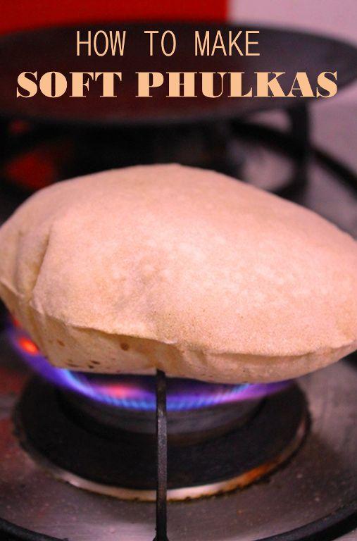 Phulka Recipe / How to Make Soft Chapati / Roti Recipe