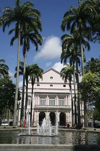 Teatro de Santa Isabel, Centro do Recife, Pernambuco - BRASIL