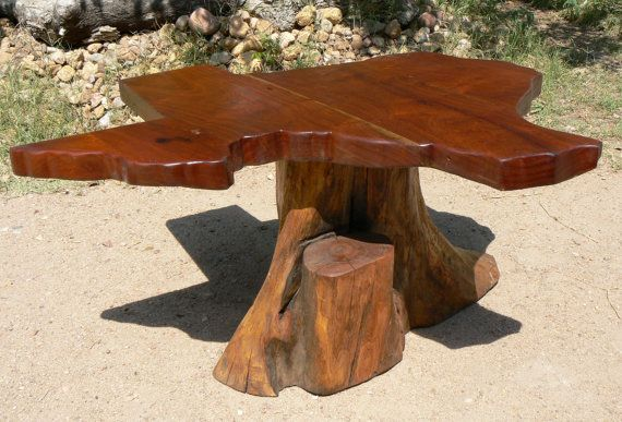 Texas~ Map Coffee Table  Reclaimed Mesquite Wood by thierryamisss