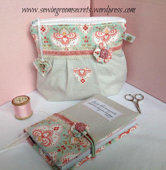 pouch & journal ~ pattern