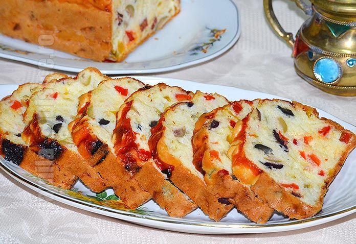 Chec aperitiv cu masline – reteta video via @JamilaCuisine