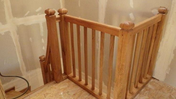 garde corps balustres en ch ne charpentes escaliers maison ossature bois pinterest. Black Bedroom Furniture Sets. Home Design Ideas