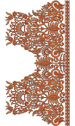 2014 Fashion Design Catalog Blouse Embroidery Design